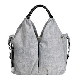 Lassig lassig green label neckline bag - black melange