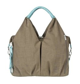 Lassig lassig green label neckline bag - taupe