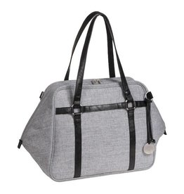 Lassig lassig green label urban bag - black melange