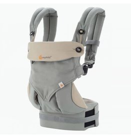 Ergo Baby ergo baby 360 all position baby carrier - grey/taupe