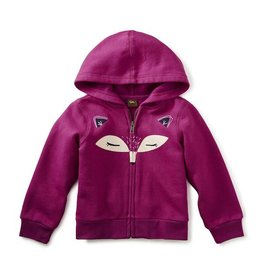 Tea Collection tea collection fox face zip hoodie