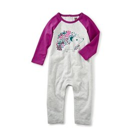Tea Collection tea collection girls hedgehog graphic romper