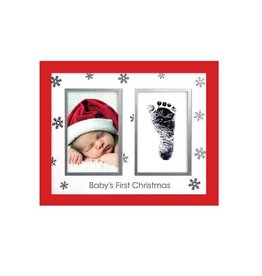Pearhead pearhead babyprints holiday frame