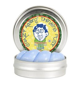 "Crazy Aaron Enterprises Inc. crazy aaron's thinking putty holiday glow in the dark - icicle 2"" tin (.47oz)"