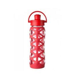 Lifefactory lifefactory 22oz active flip glass + silicone bottle