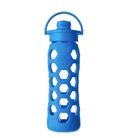 Lifefactory lifefactory 22oz flip glass + silicone bottle