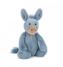 Jellycat jellycat bashful blue donkey - small