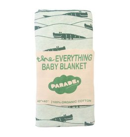 Parade parade organics everything baby wrap - green crocodiles