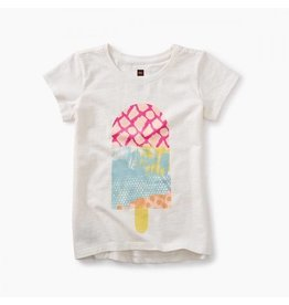 Tea Collection tea collection ice pop graphic tee - chalk