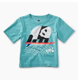 Tea Collection tea collection surfing panda graphic baby tee