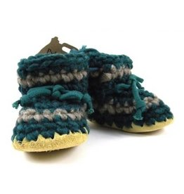 Padraig Cottage padraig cottage youth slippers - forest stripe