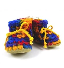 Padraig Cottage padraig cottage children's slippers - rainbow multi