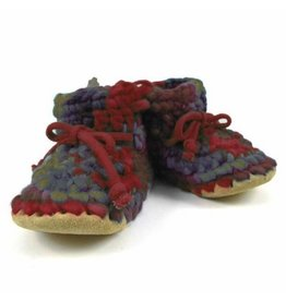 Padraig Cottage padraig cottage children's slippers - harvest brown multi