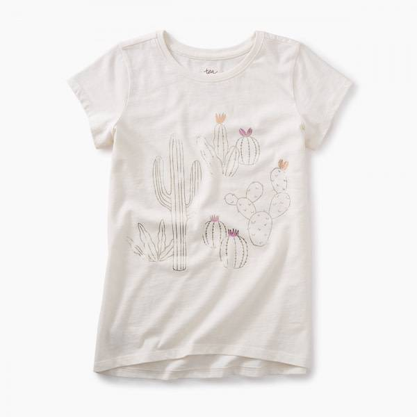 Tea Collection tea collection cactus graphic tee