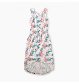 Tea Collection tea collection hi lo tank dress - hawaiian florals