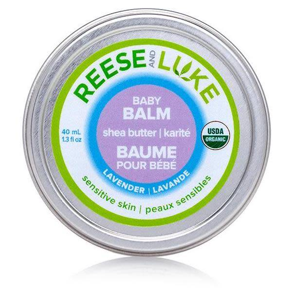 Reese and Luke reese and luke shea butter baby balm lavender 40ml tin
