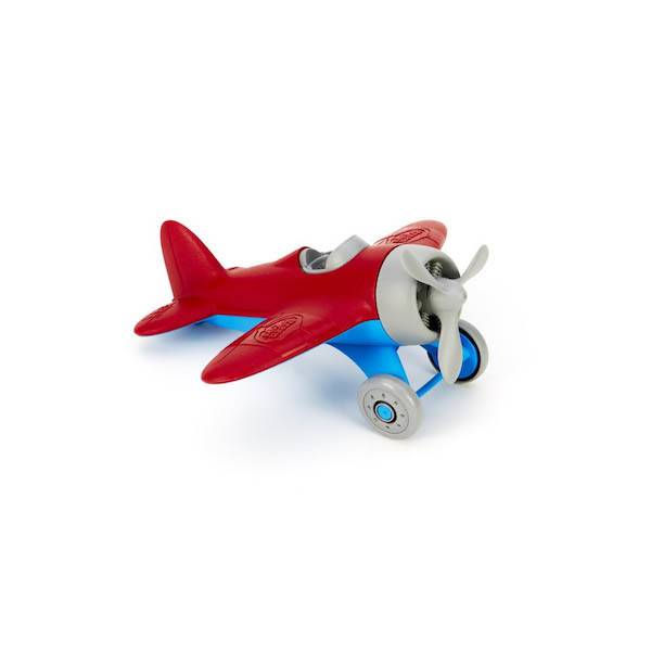 Green Toys green toys airplane red