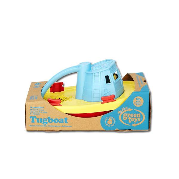 Green Toys green toys tugboat blue handle