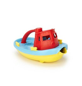 Green Toys green toys tugboat red handle