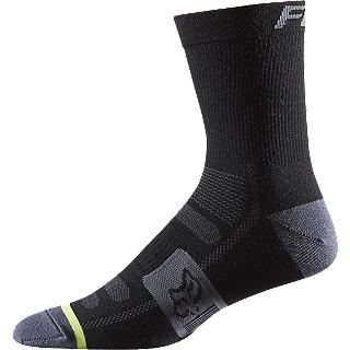 "Fox Head Socks, Fox wool sock 6"""