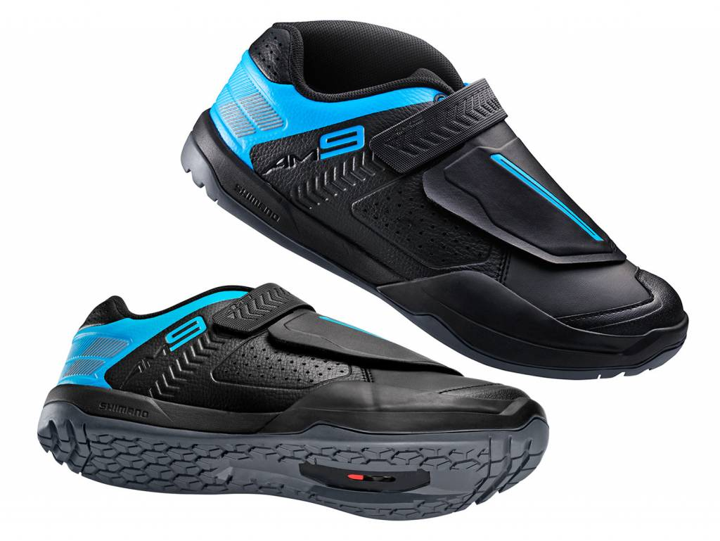 Shimano Shoes, Shimano, AM9 Gravity Black