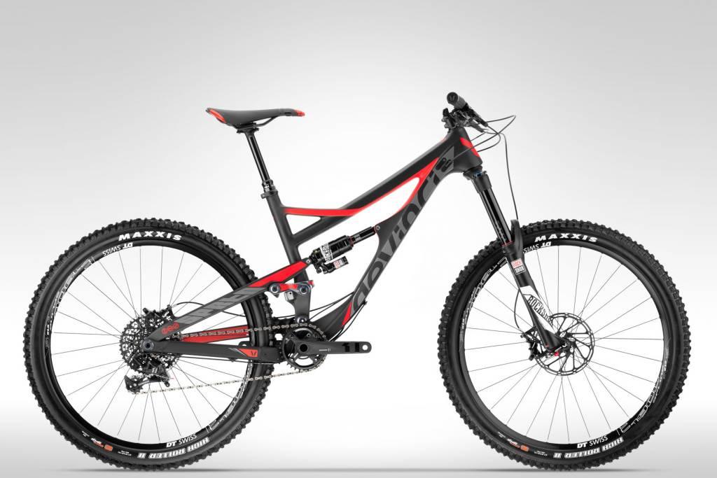 Devinci Devinci Spartan Carbon SX '16, Matte Blk/Red Large