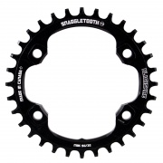 Blackspire Chainring, Blackspire Snaggletooth N/W Round XT 8000 Black