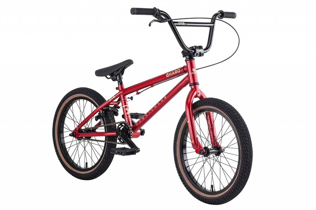 "HARO Haro BMX Downtown 18"" Red"
