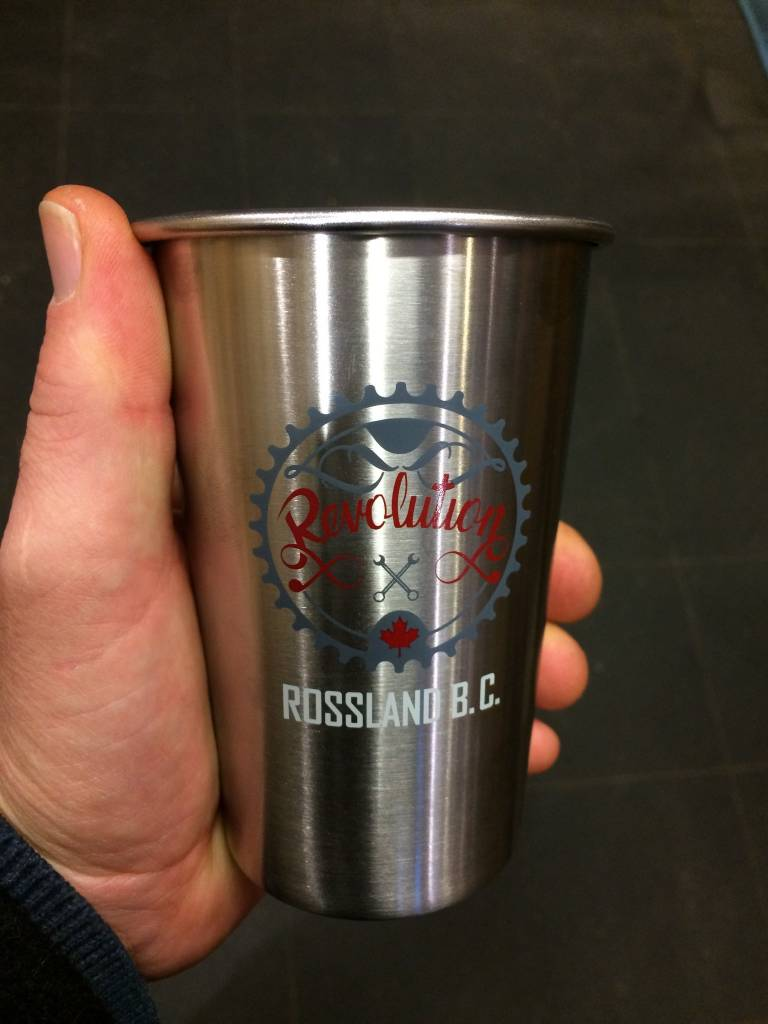 Revolution Stainless Steel Pint Glass