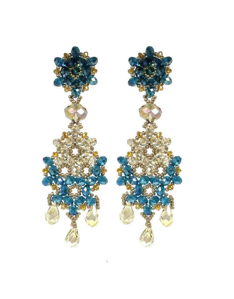 Esmeralda Lambert Earrings L12