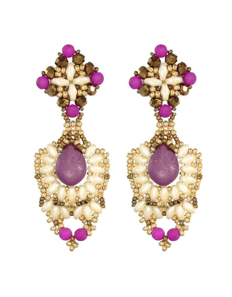 Esmeralda Lambert Earrings L29