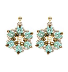 Esmeralda Lambert Earrings M06