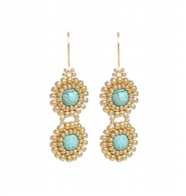 Esmeralda Lambert Earrings M106