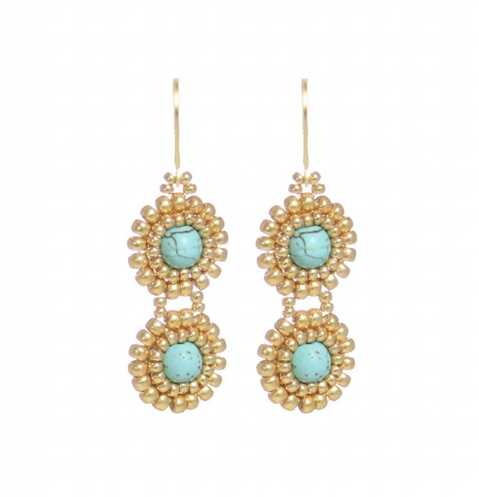 Esmeralda Lambert Earrings M106