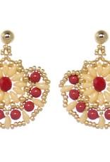 Esmeralda Lambert Earrings M108