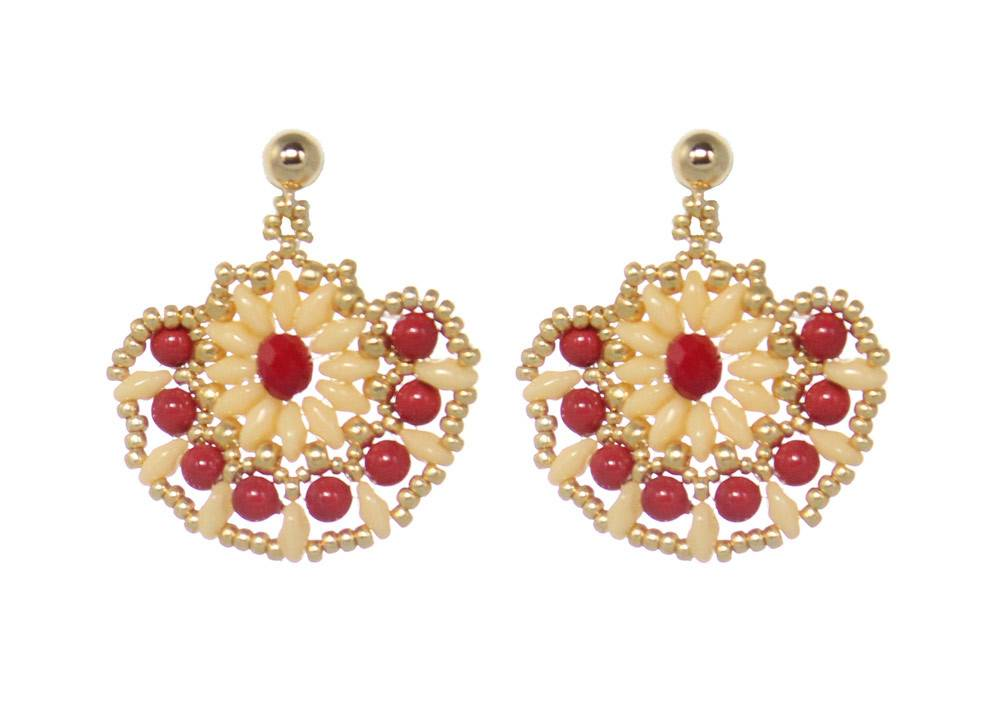 Esmeralda Lambert Earrings M108