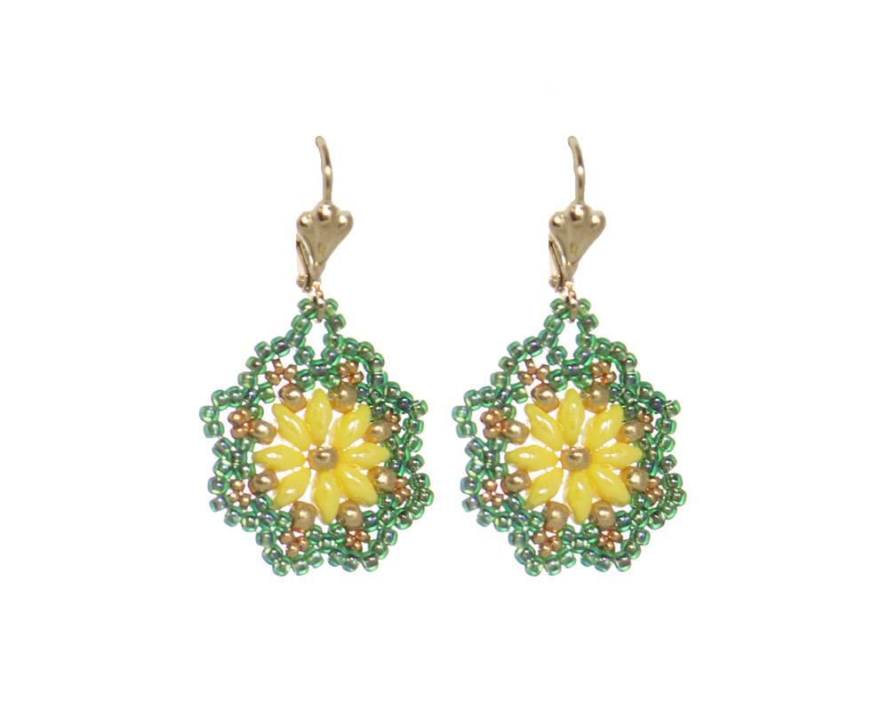 Esmeralda Lambert Earrings M110