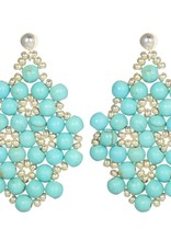 Esmeralda Lambert Earrings M130