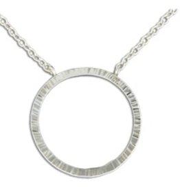 Mark Steel Circle Pendant 1