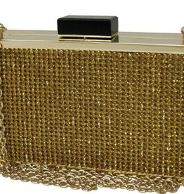 City Design Group Vintage Crystal Box Clutch