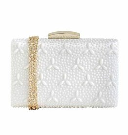 City Design Group Embellished Miniaudier Clutch