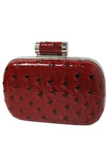 City Design Group Ostrich Synthetic Evening Clutch