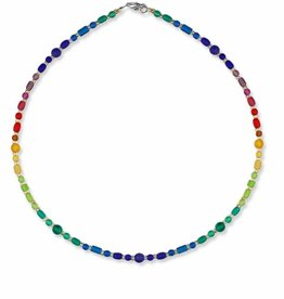 Austin Cake Necklace - Cipher Dots Dash 17""