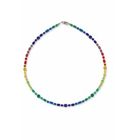 Austin Design Necklace - Cipher Dots Dash 17""
