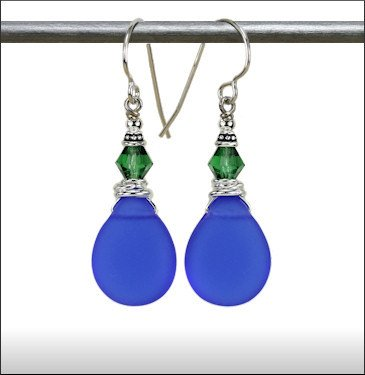 Austin Cake Water Drop Earring