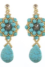 Esmeralda Lambert Earrings M05
