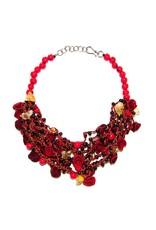 Angela Sanchez Mompox Orange Peel Acai Berry - Necklace