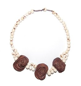 Angela Sanchez Mocoa Acai Berry Orange Peel - Necklace
