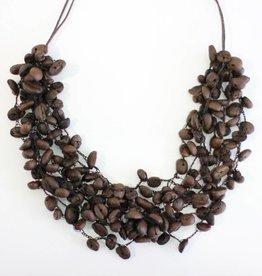 Angela Sanchez Mompox Coffee Bean - Necklace