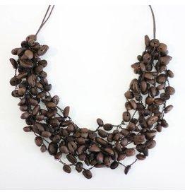 Angela Sanchez Mompox Coffee Bean - Necklace